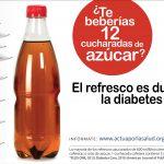 メキシコの炭酸飲料の消費抑制のためのキャンペーン広告